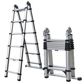 6'STEP/12'EXT TELE LADDER