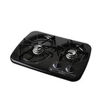 DROP-IN  2 BURNER  BLACK