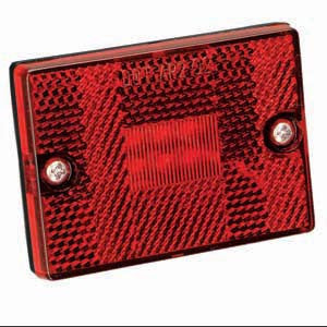 LED CLEARANC LITE #42 RED