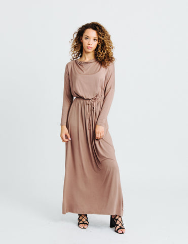Abaya Cover Up in Dusty Rose