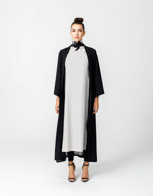 Abaya Cover Up in Classic Black