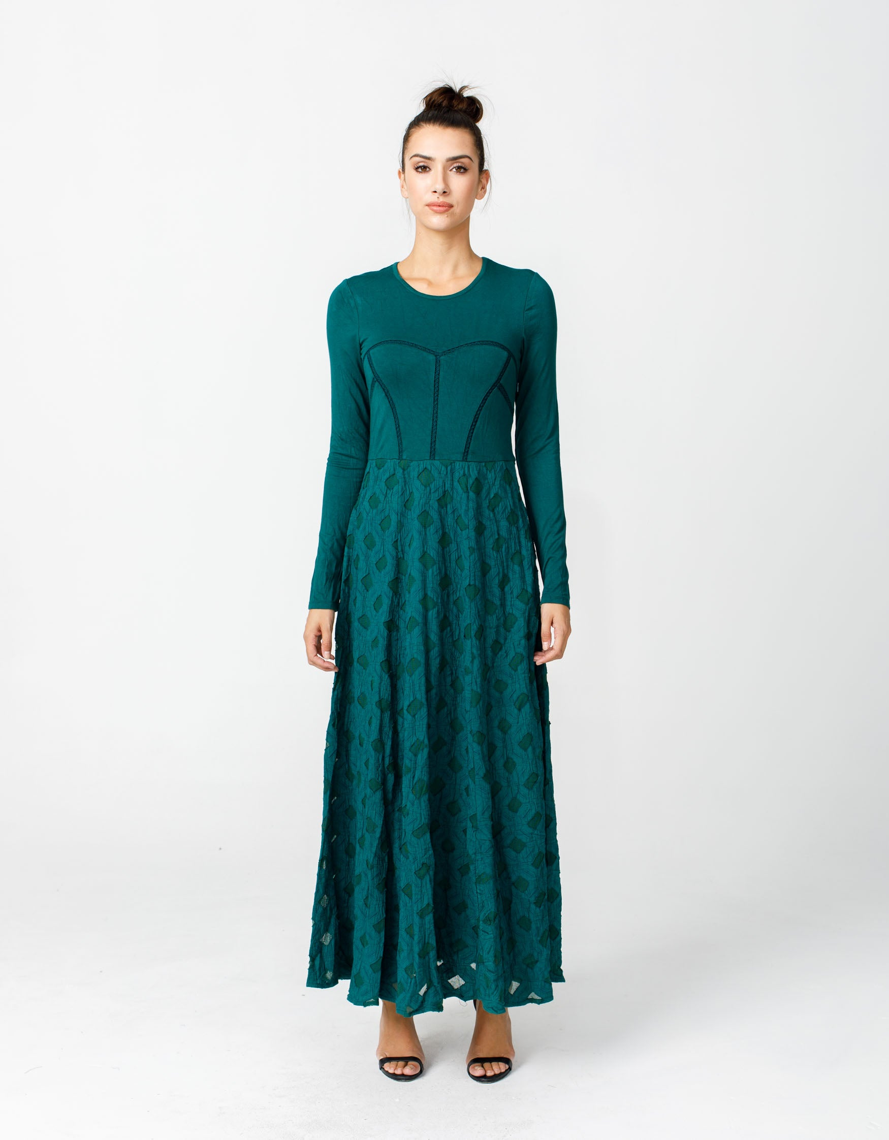Nomad Dress in Deep Forest