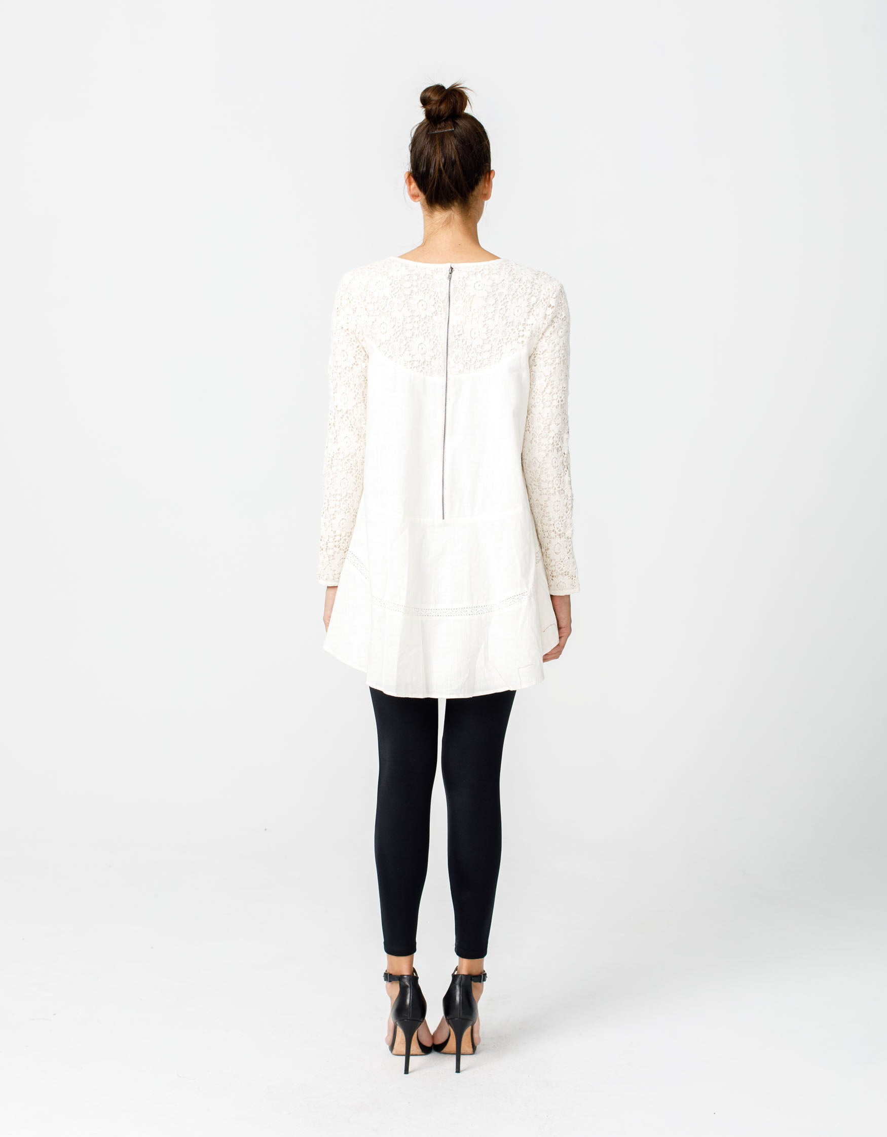 Wandering Star Top in Ivory
