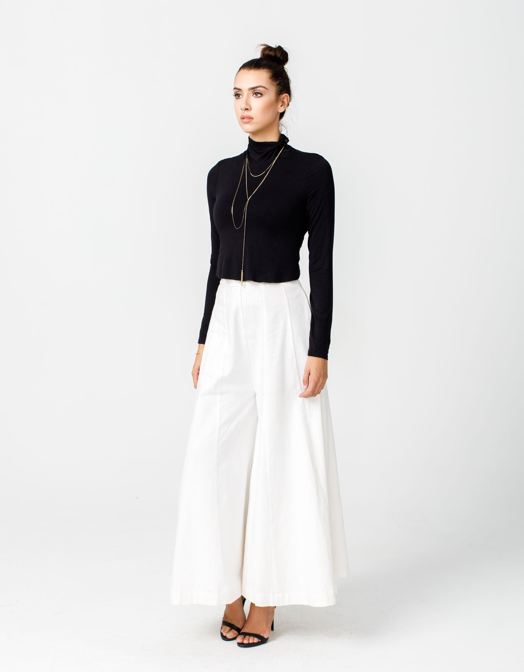 Eartha Pant in Ivory