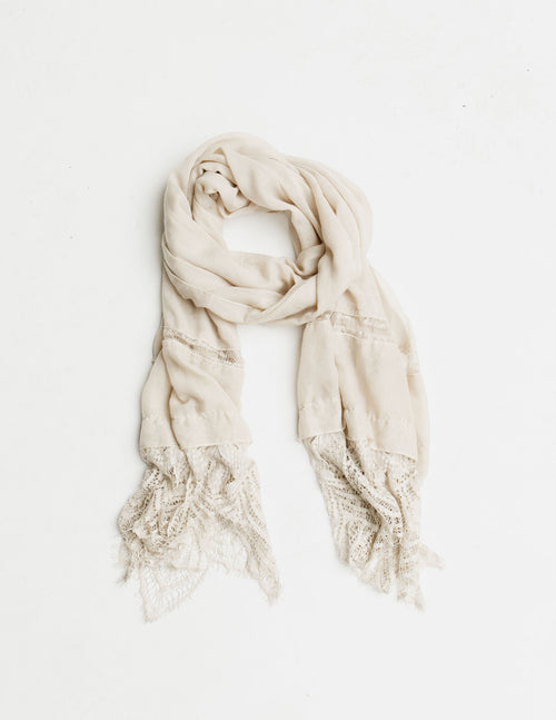 Lace Edge Scarf