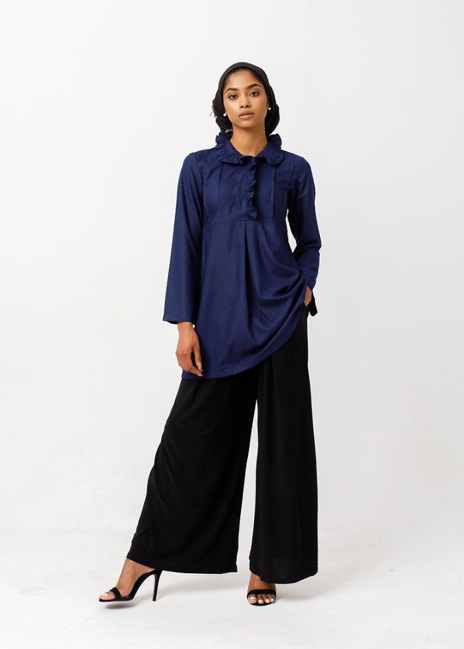 Modern Mary Pintuck Blouse