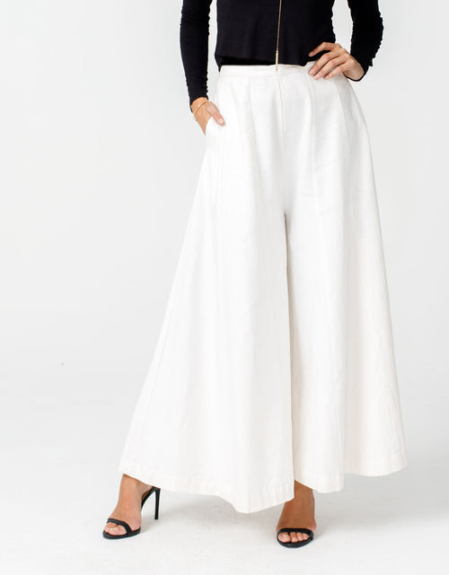 Eartha Pant in Ivory - Preorder 1/20