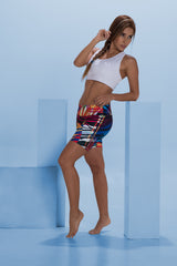 Abstract Short colourful