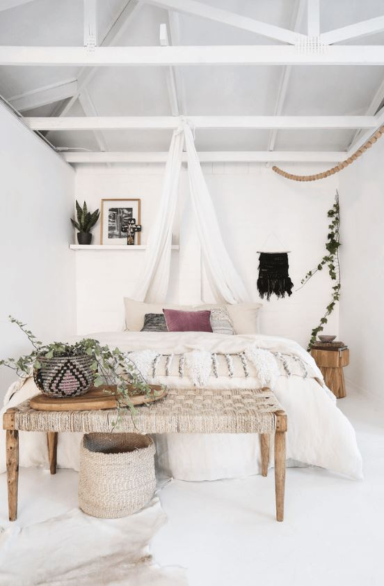 7 White Bedrooms That Won't Put You To Sleep