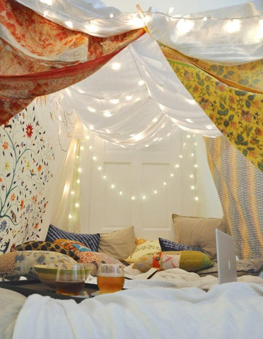 Epic Blanket Forts That Will Amaze You