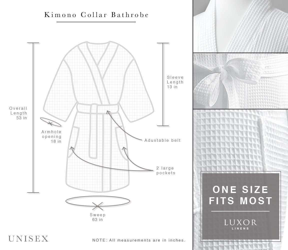 456b443e11 Lakeview signature egyptian cotton resort waffle spa robe baby collection  luxor linens jpg 1152x1000 Cotton waffle