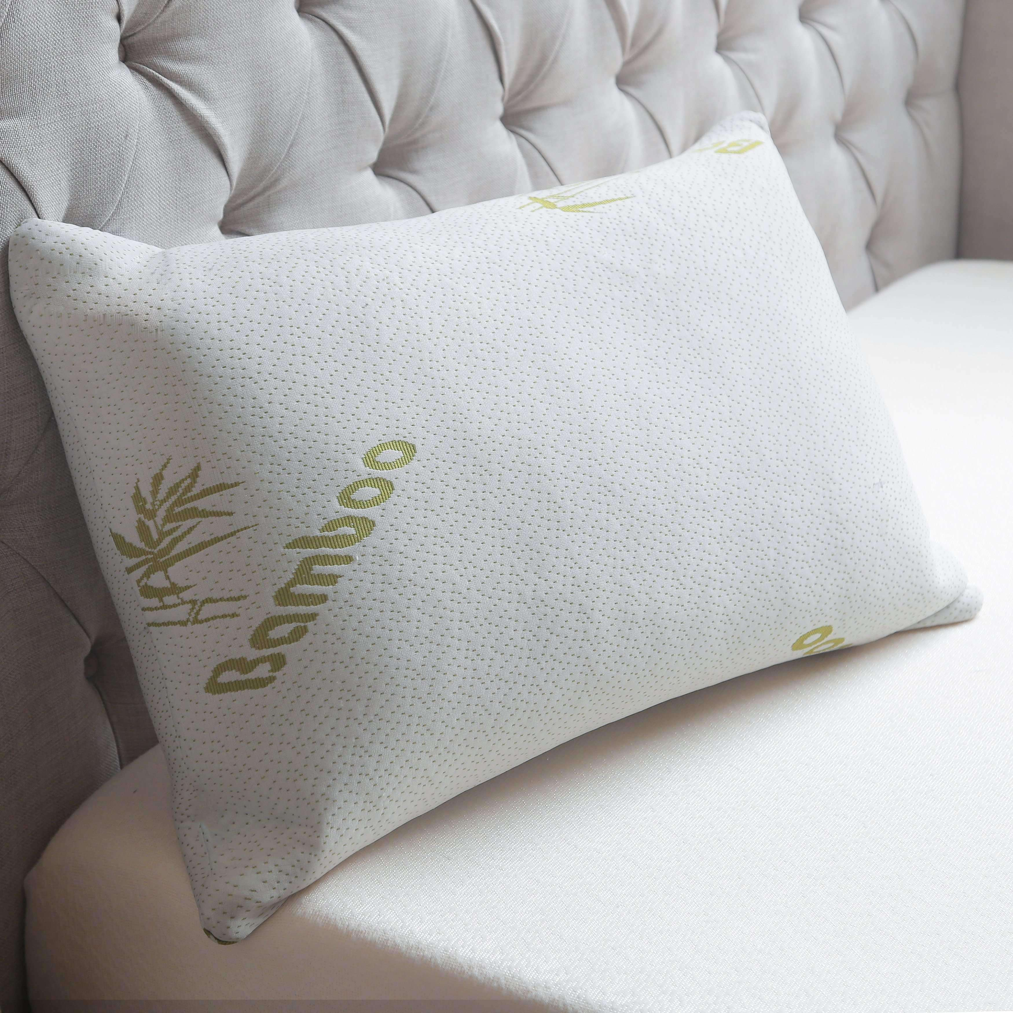 decor ribbon products product foam bamboo pillow blue collections trends memory image
