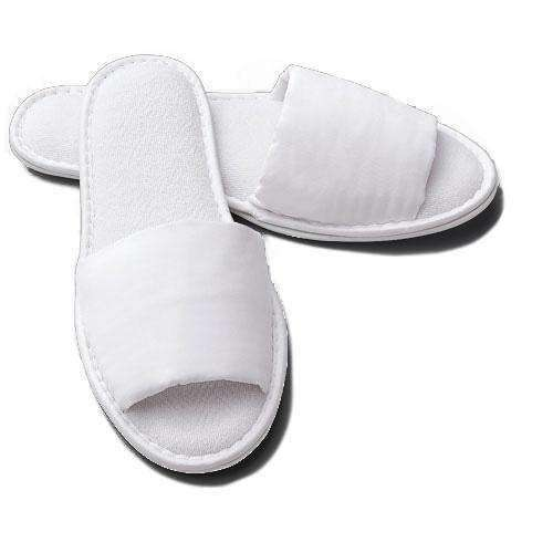 5th Avenue Microfiber Terry Spa Slippers - Luxor Linens
