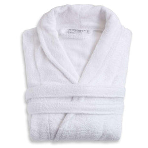 5th Avenue Unisex Egyptian Cotton Luxury Bathrobe - Luxor Linens