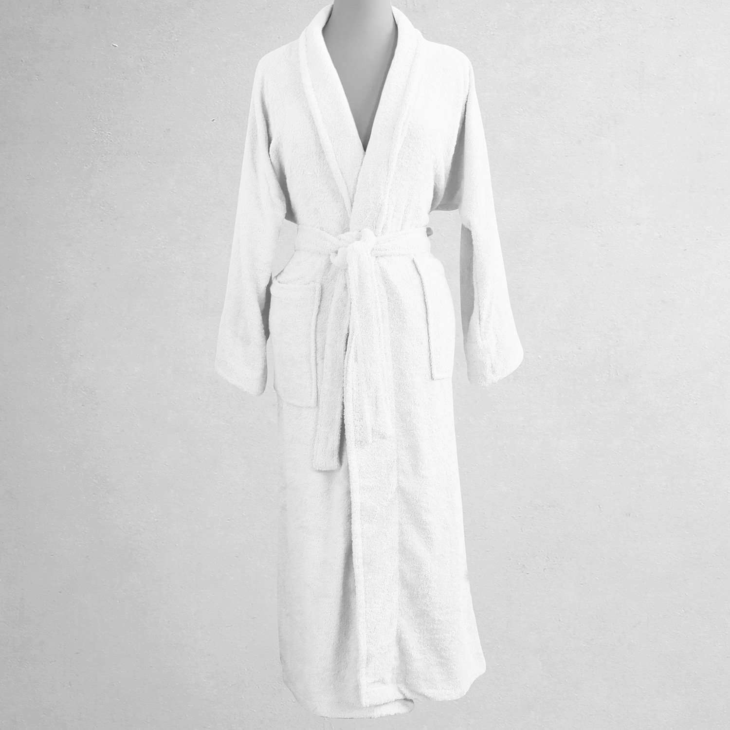 5th Avenue Unisex Egyptian Cotton Luxury Bathrobe - Luxor Linens 48c0a3160