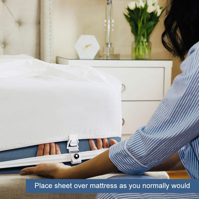 Bed Scrunchie®  360-Degree Bed Sheet Holder + Tightener