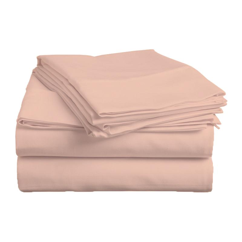 Caterina Solid Egyptian Cotton Sheet Set