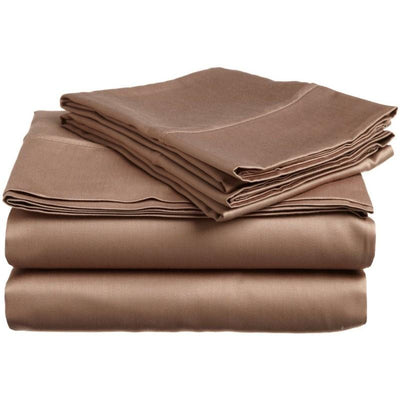 Caterina Solid Egyptian Cotton Sheet Set - Luxor Linens
