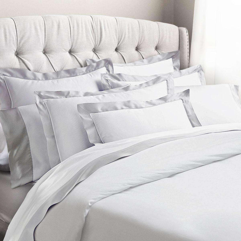 Amarante Egyptian Cotton Sateen Pillowcases (Set of 2) - Luxor Linens