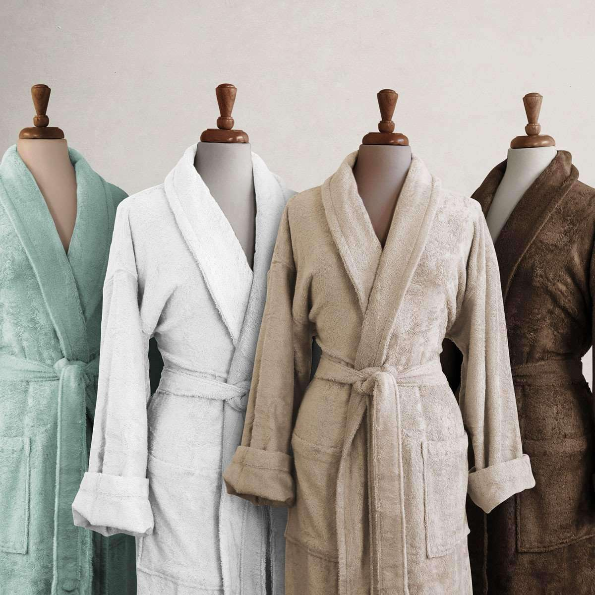 Anini Bamboo and Cotton Spa Bathrobe