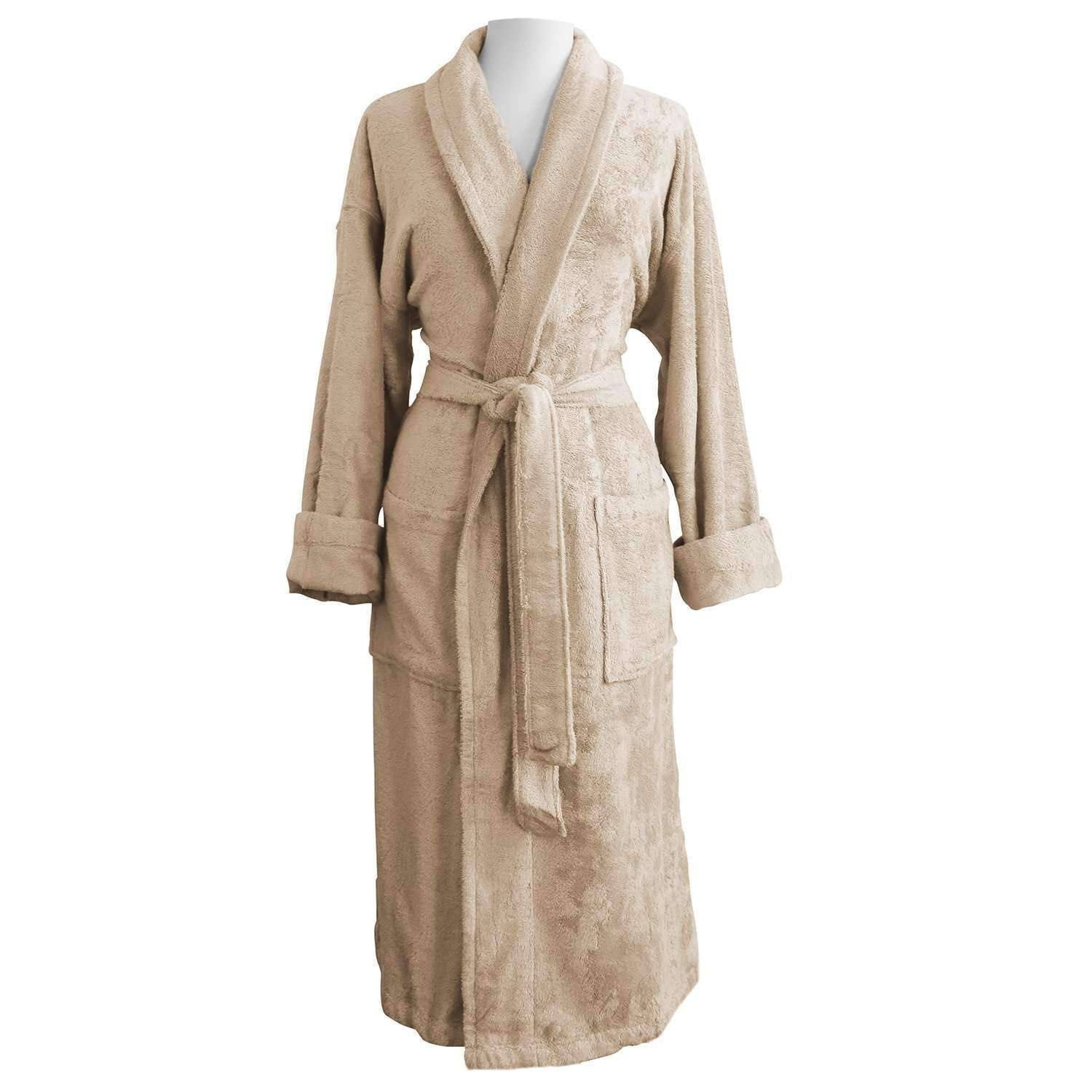 Anini Bamboo and Cotton Spa Bathrobe - Luxor Linens