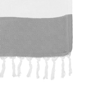Argyle Knit Peshtemals Turkish Towel - Luxor Linens