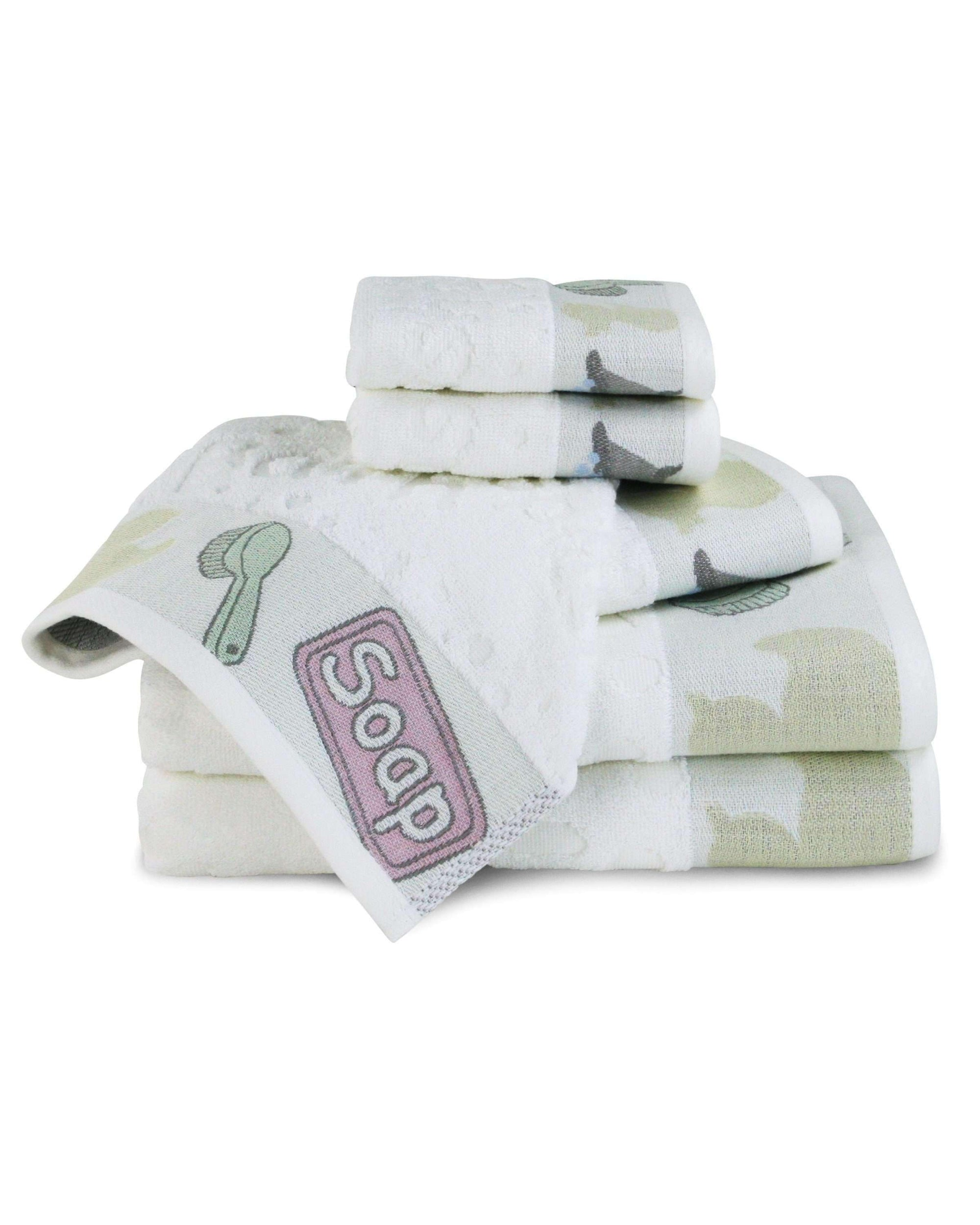 Bambini Bathtime 100% Egyptian Cotton Towels