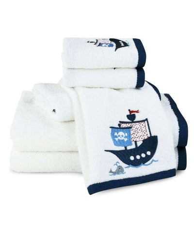 Bambi Embroidered Pirate Towels - Luxor Linens