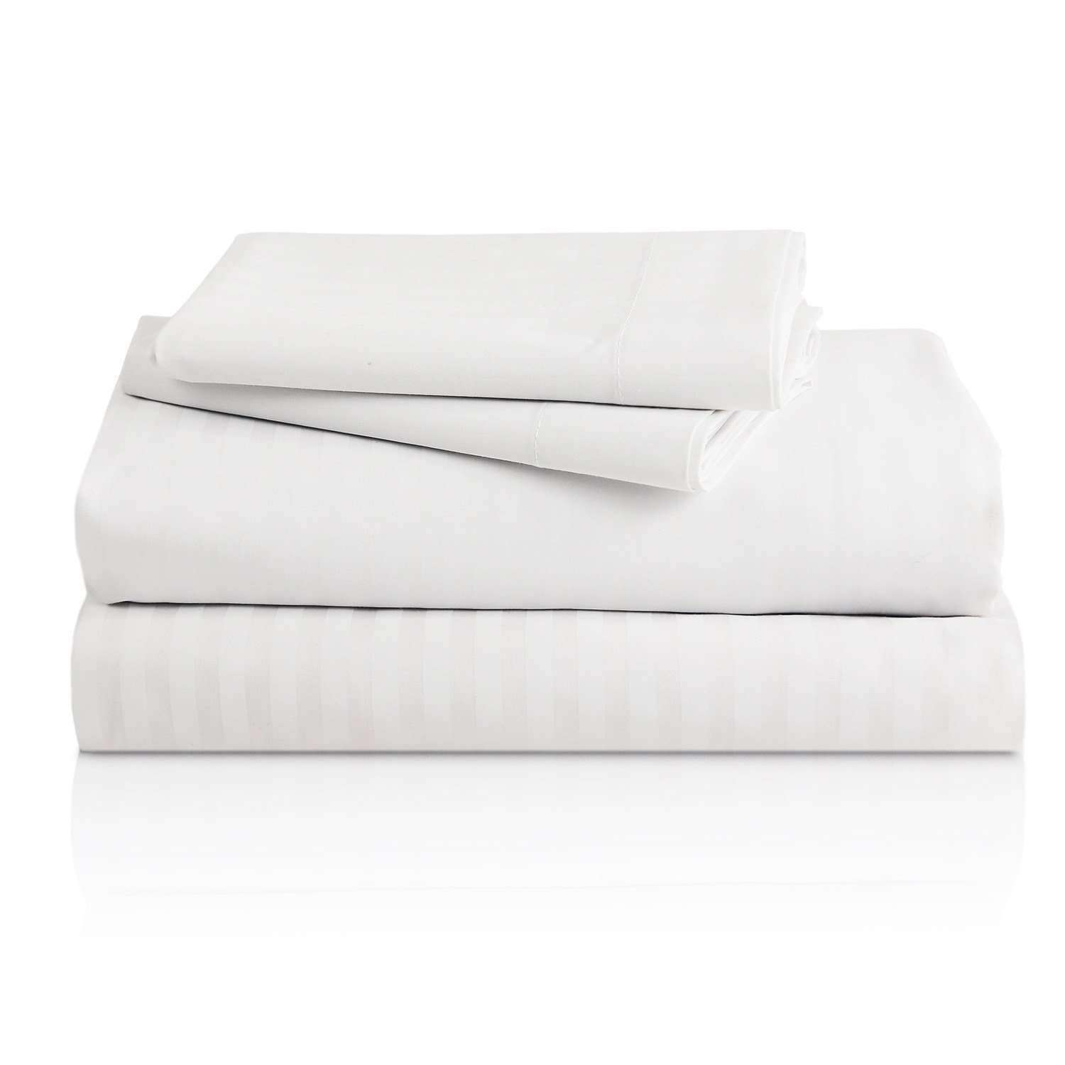Bellagio Two-Tone Stripe Sheet Set - Luxor Linens
