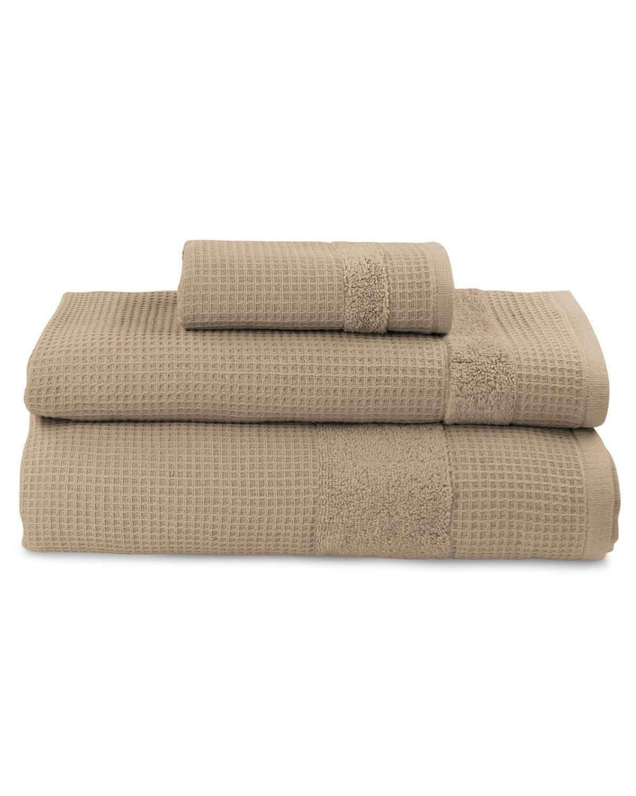 Buonaparte Egyptian Cotton Waffle Luxury Spa Towel Collection - Luxor Linens