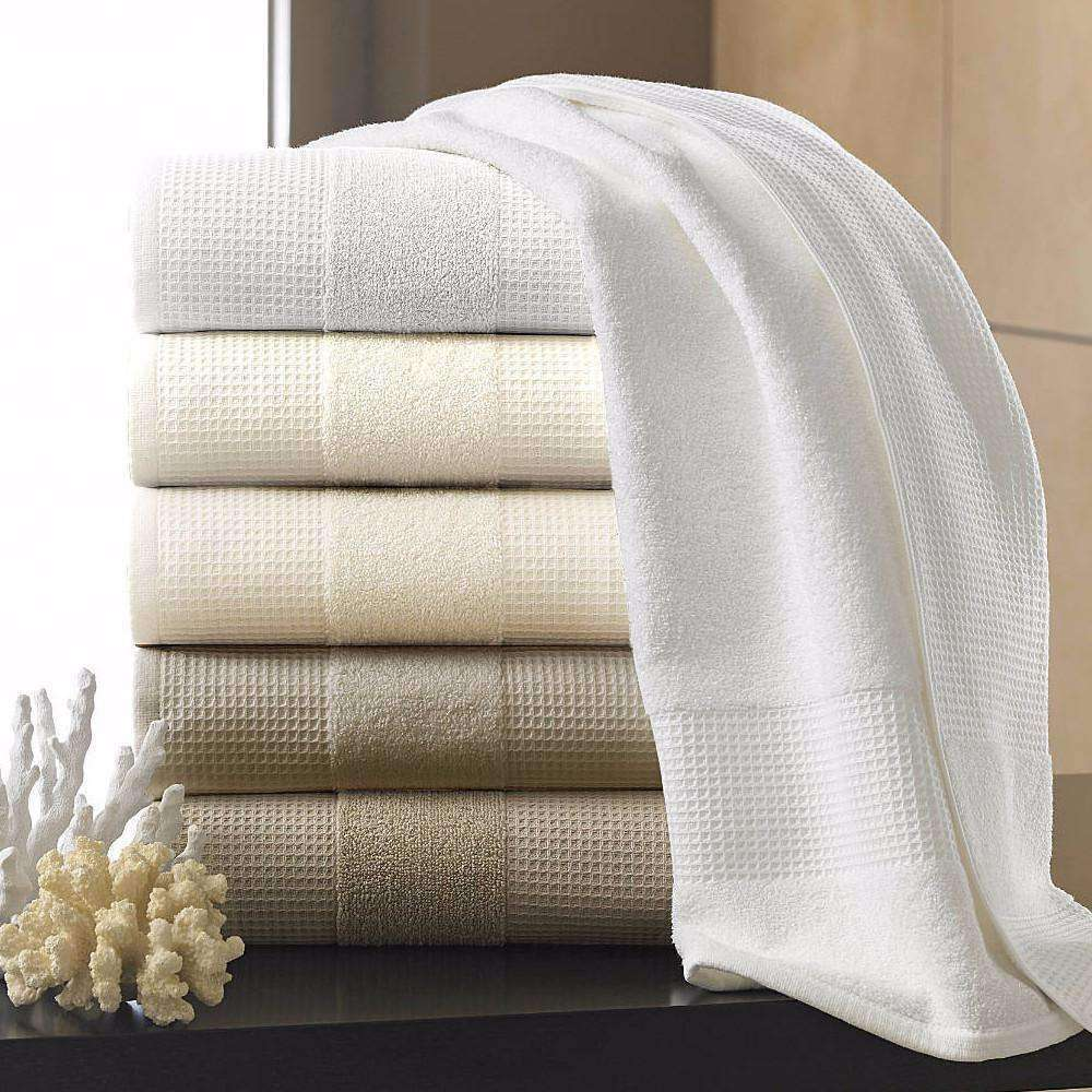 Buonaparte Egyptian Cotton Waffle Luxury Spa Towel Collection