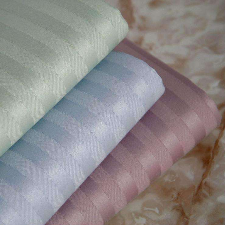 Caterina 600 Thread Count Stripe Egyptian Cotton Pillow Case Set - Luxor Linens
