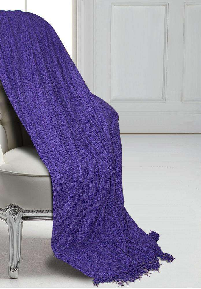 Clarissa Large Oversized Throw Blanket - Luxor Linens