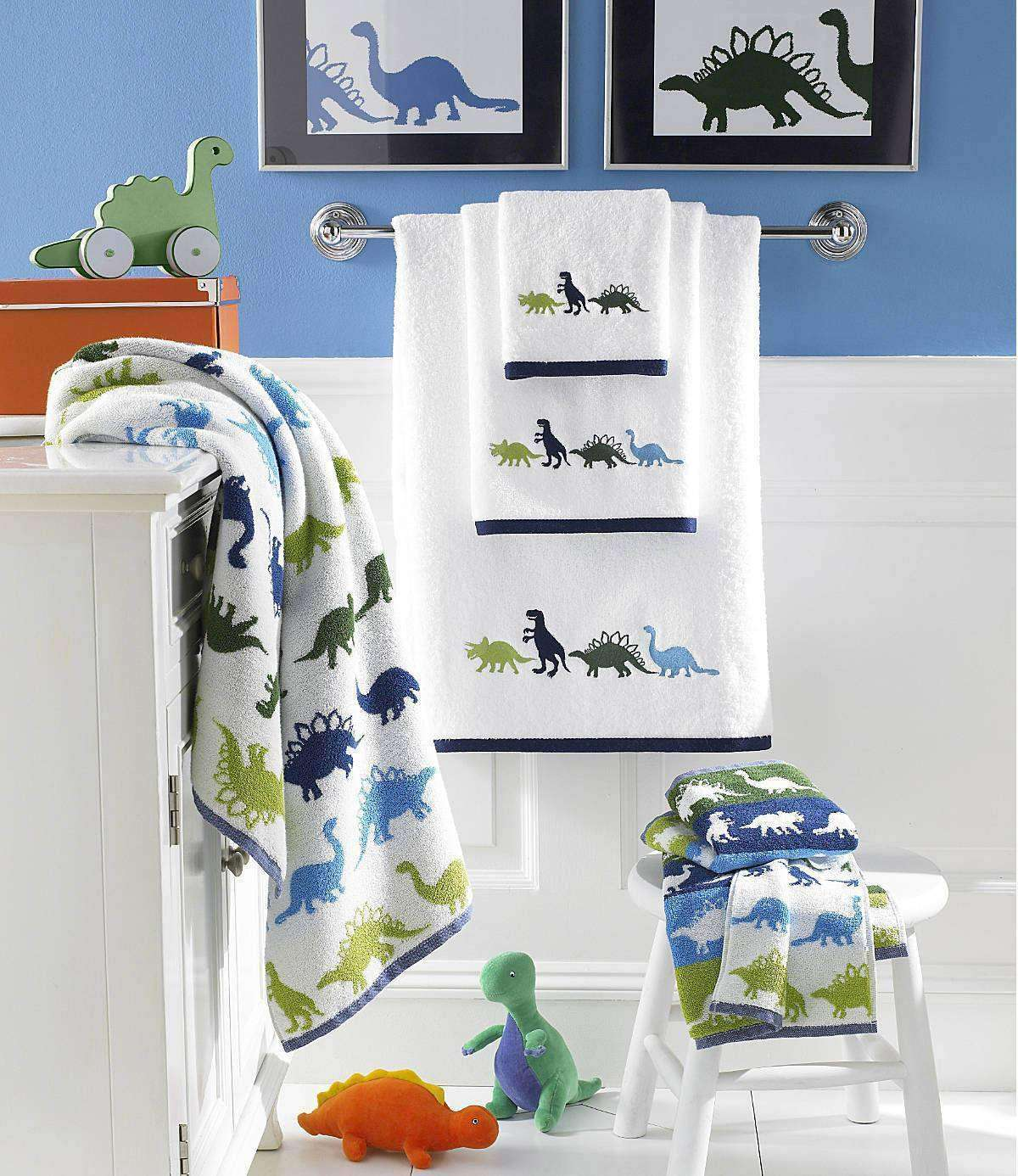Bambi Dino Park 100% Egyptian Cotton Towels - Luxor Linens