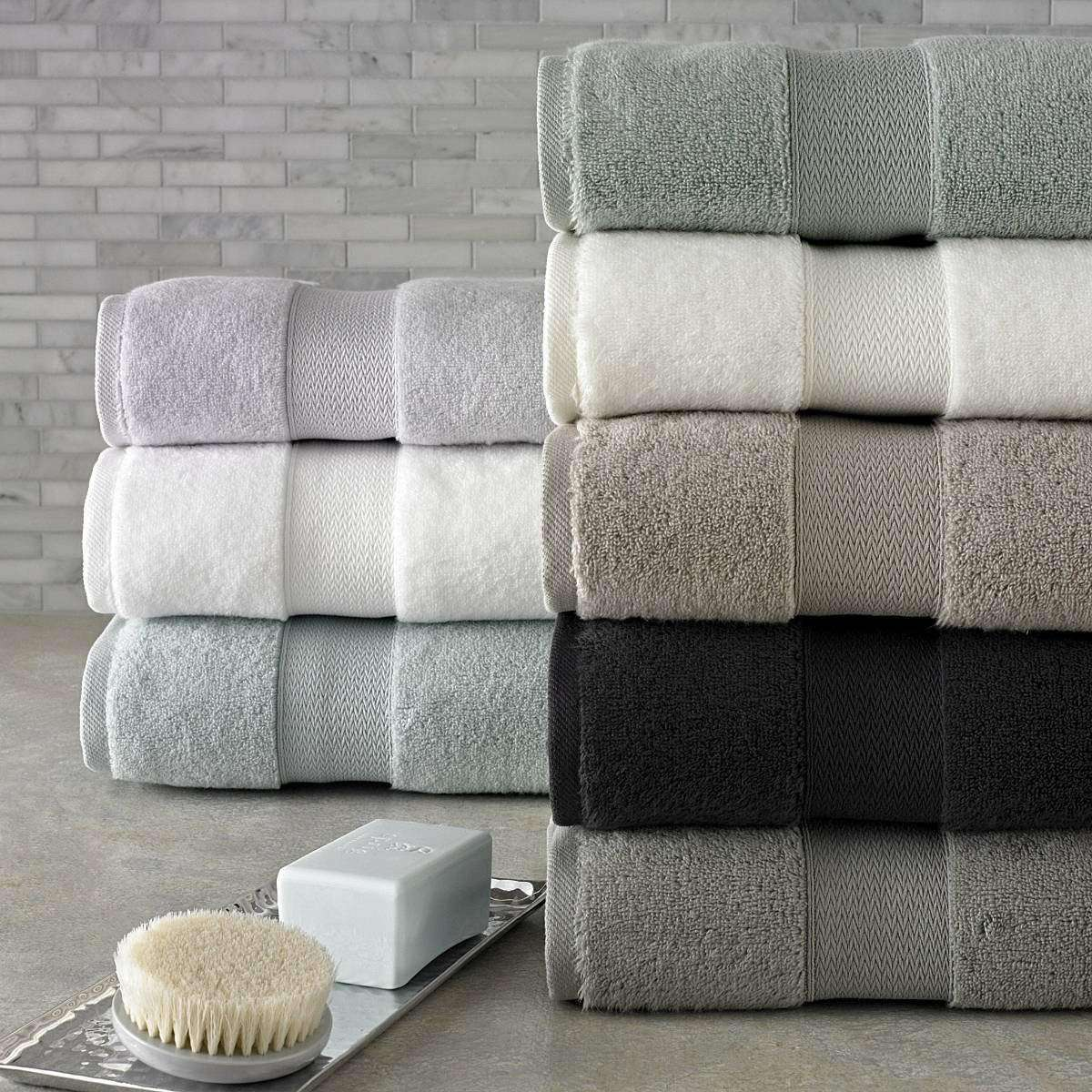 Ezio Long Staple Turkish Luxury Towels Collection