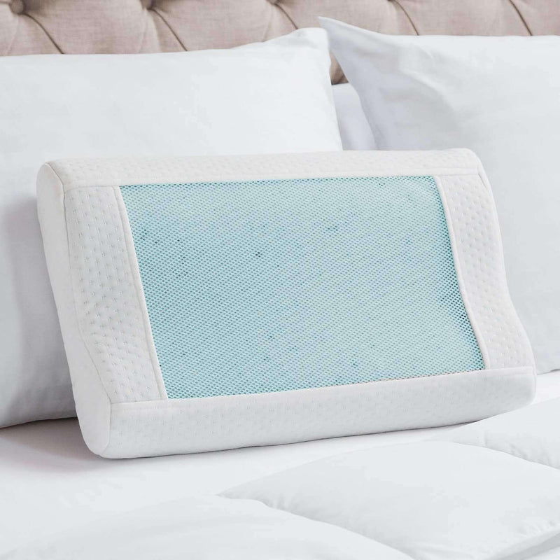Fresco Cooling Contour Pillow - Luxor Linens