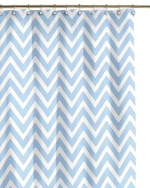 Gallego Chevron Shower Curtain - Luxor Linens