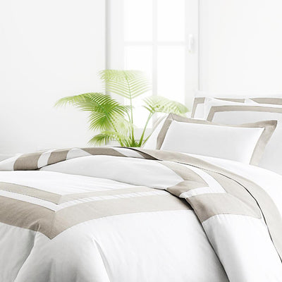 Genovesa Egyptian Cotton Sateen Duvet Cover