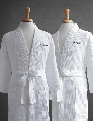 Lakeview Egyptian Cotton Spa Couples Robes & Free Gift With Purchase - Luxor Linens