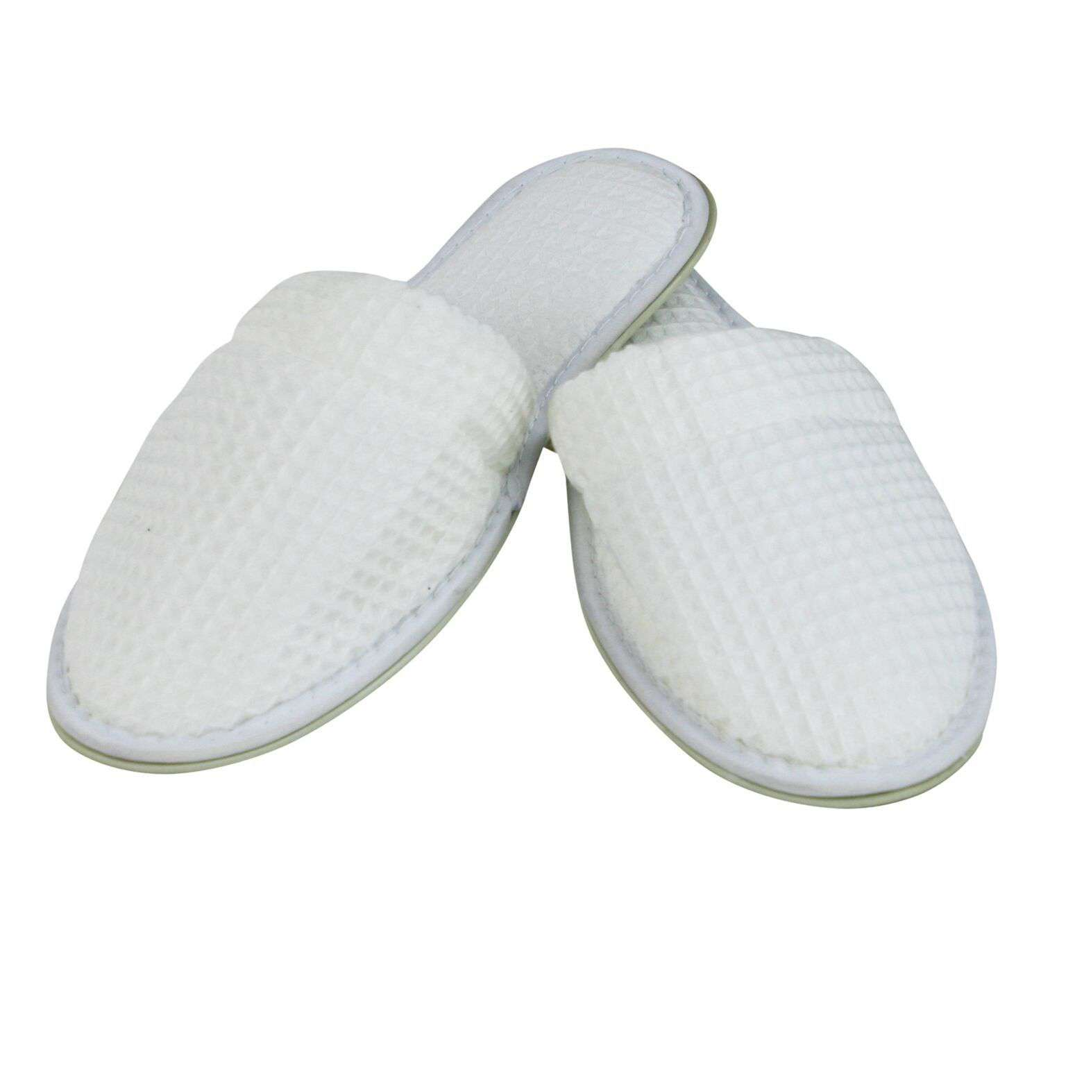 6848151115e6 Lakeview Waffle Spa Slippers - Luxor Linens