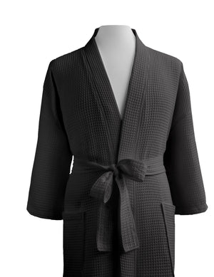 Giovanni Unisex Colored Waffle Robes - Luxor Linens