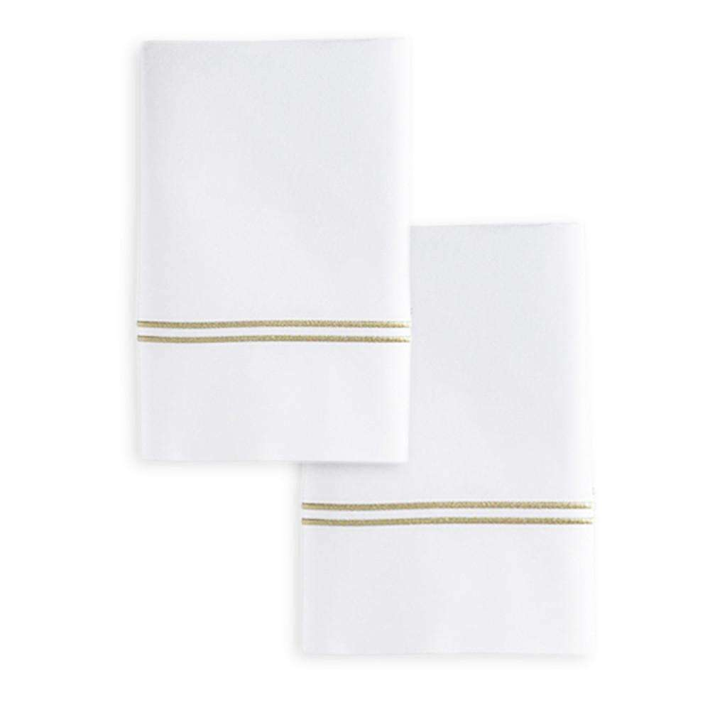 Granduchi Italian Embroidered Pillow Cases - Luxor Linens