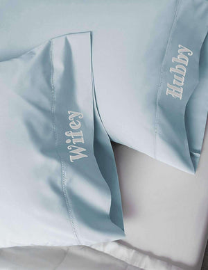 Luxor Linens Embroidered Pillowcase Set - Luxor Linens