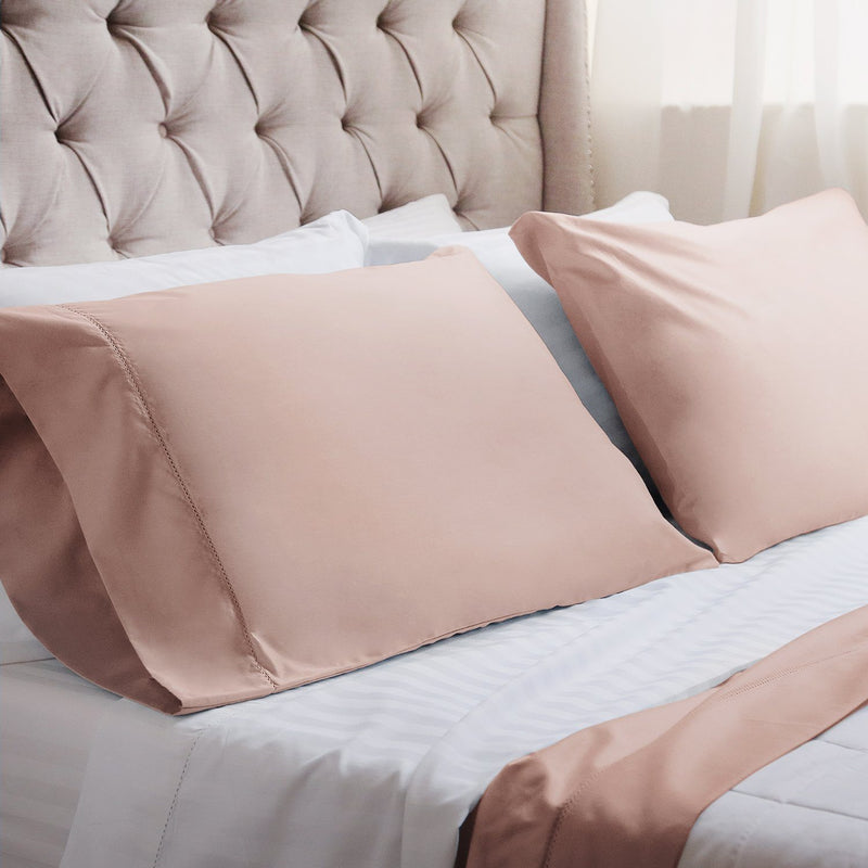 Anina Solid 1000 Thread Count Cotton Soft Sheets - Luxor Linens