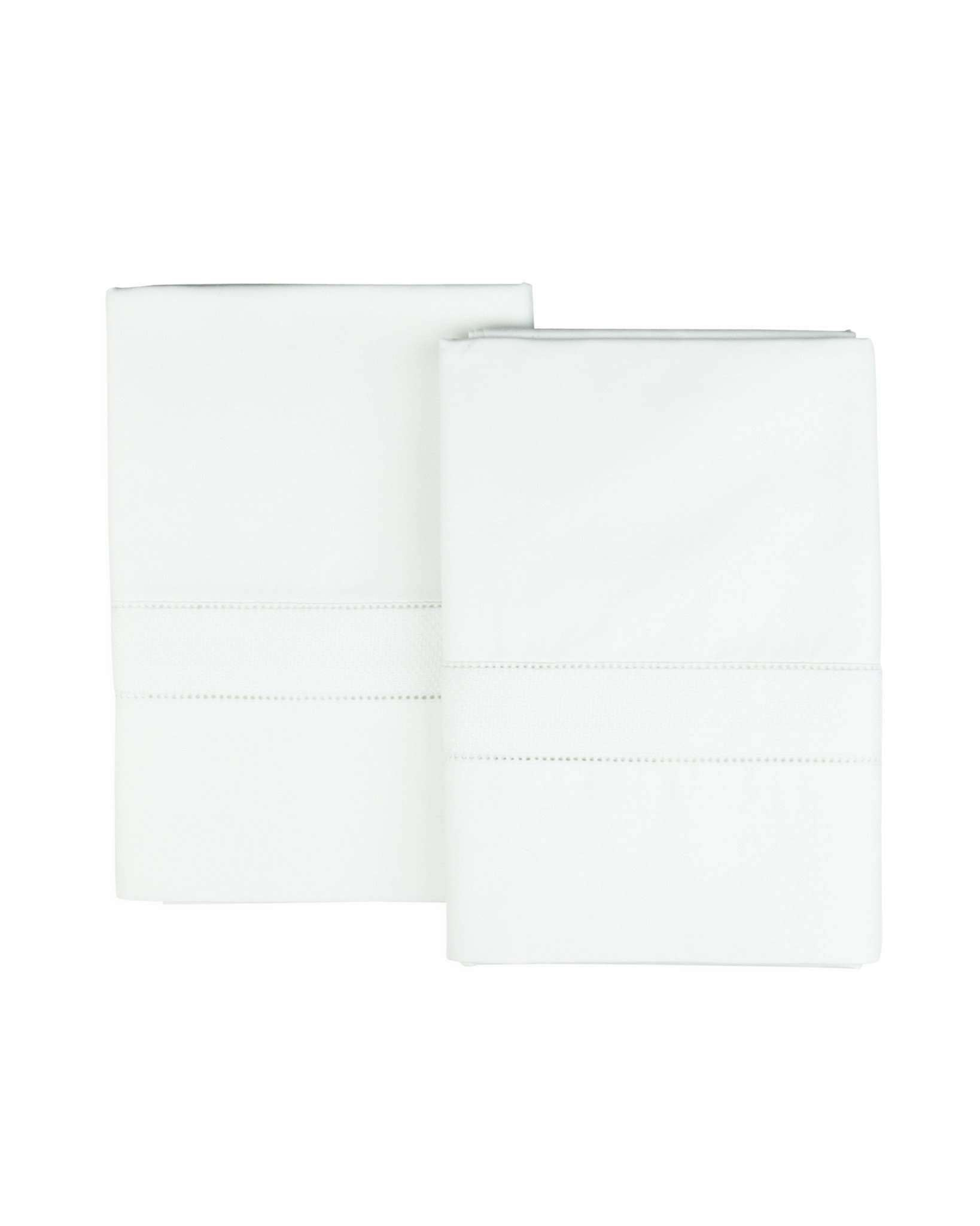 Madelina Egyptian Cotton Percale Pillow Cases - Luxor Linens