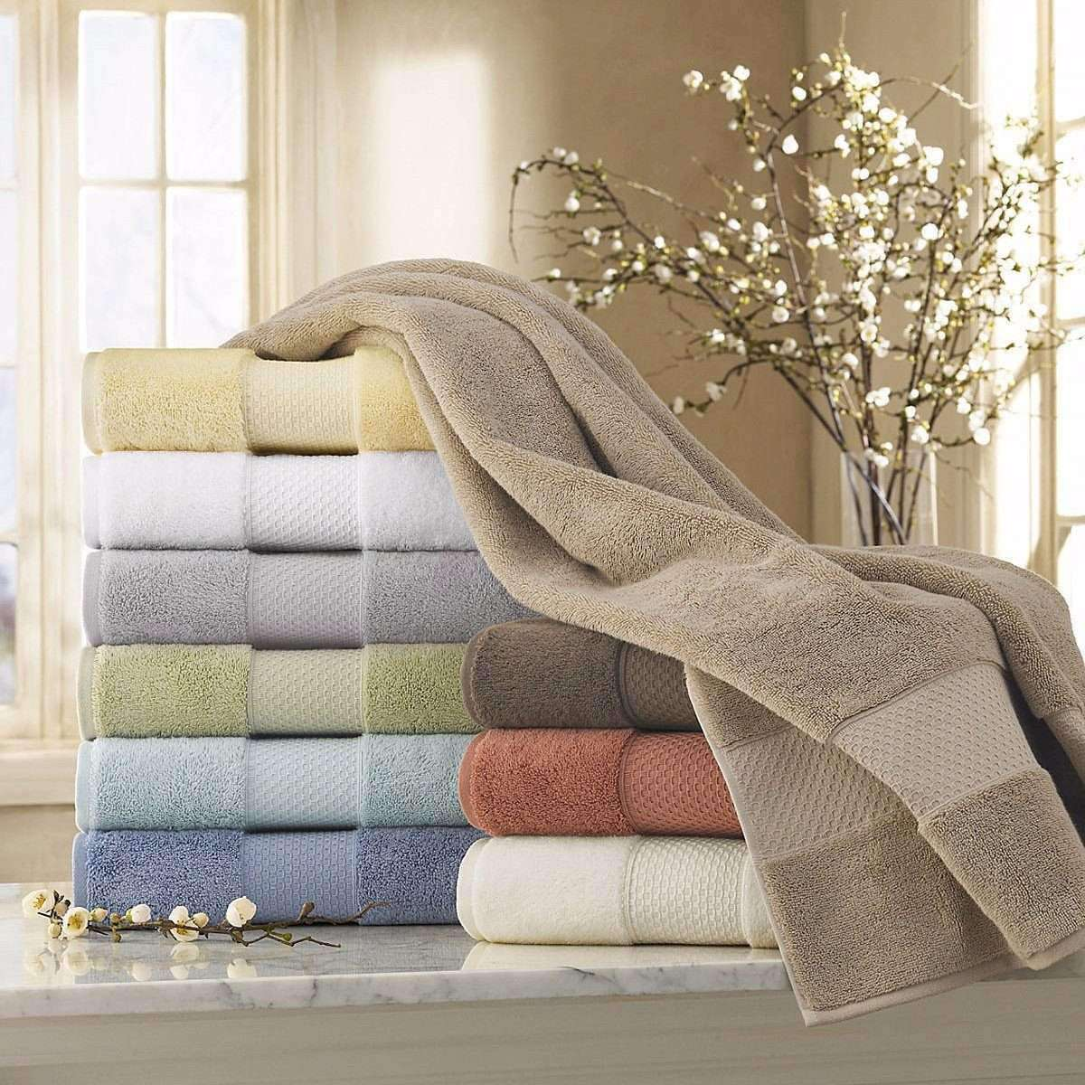 6-Piece Bath Towel Set - Mariabella Collectio