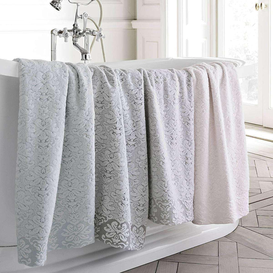 Merletto 100% Egyptian cotton Yarn Dyed Jacquard Towels - Luxor Linens