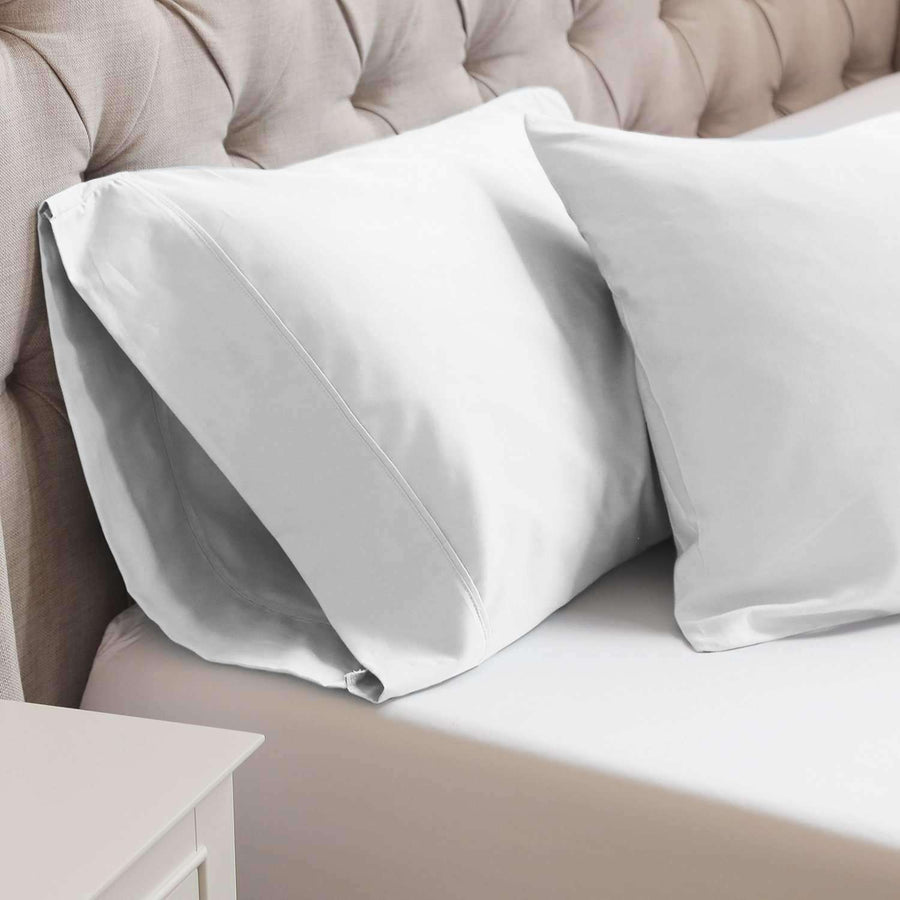 Marseille Embroidered Pillow Cases - Luxor Linens