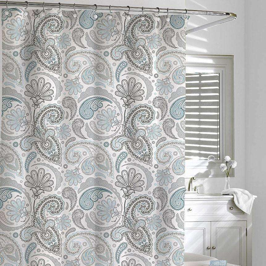 Daliah Paisley Shower Curtain - Luxor Linens