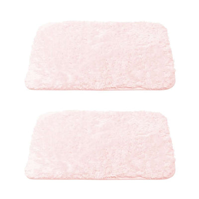 Lakeview Luxury Fuzzy Bath Rugs - Luxor Linens